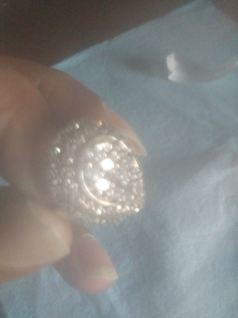 Wemon Ring 925 Silver With Ruel Dimond