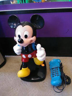 Photo Mickey Mouse Phone. 13.5H