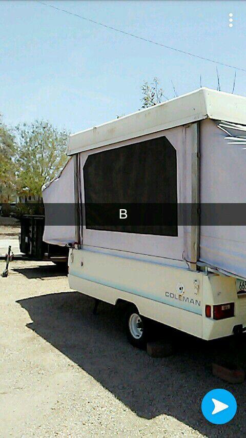 1990 coleman pop up camper  for Sale in Phoenix, AZ - OfferUp