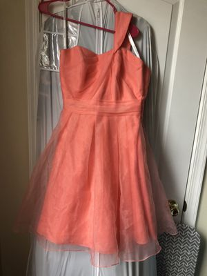 David's Bridal Peach Dress for Sale in Baltimore, MD