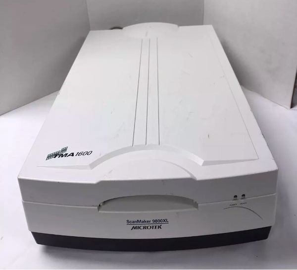 MICROTEK ScanMaker 9800XL MRS 3200A3 12x17 A3 Flatbed Scanner TMA1600