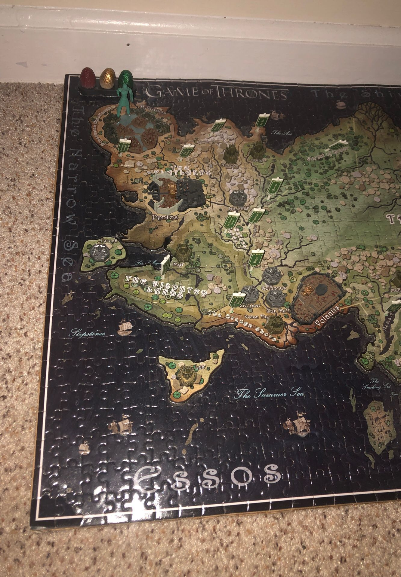 Game of Thrones Essos Puzzle