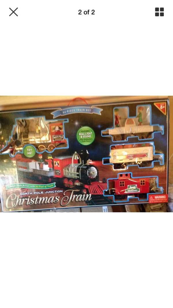 30sold - North Pole Junction Christmas Train