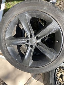 Dodge Charger Rims And Tires Rims Are Plastic Dip Thumbnail