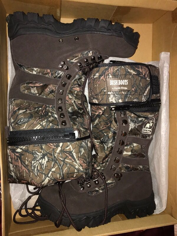 Guide king bush boots for sale in perris, ca offerup.