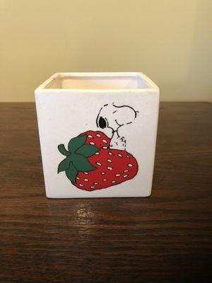 Vintage Snoopy Planter for Sale in Centreville, VA