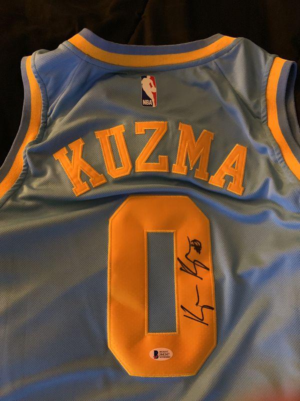 online store 99c35 8847d Signed Kyle kuzma jersey mpls for Sale in El Monte, CA - OfferUp