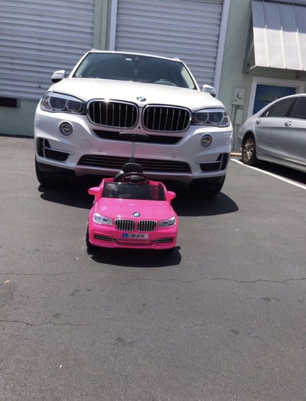 faeb9b1d1a2 BMW X5 electric car for kids pink brand new for Sale in North Miami ...