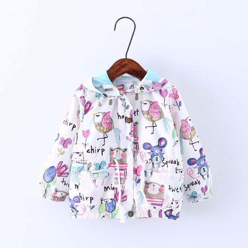 New cartoon baby kid hoodie jacket