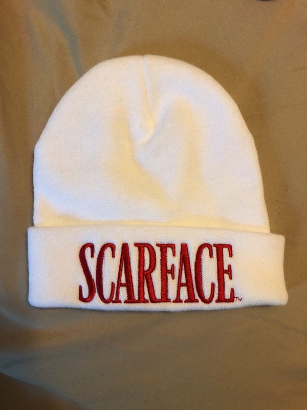8d64c53663ec3 SUPREME X SCARFACE BEANIE WHITE for Sale in Los Angeles