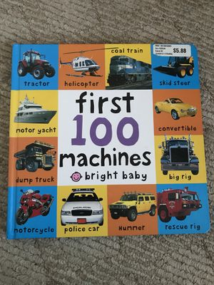 Bright Baby First 100 Machines Board Book for sale  Bentonville, AR