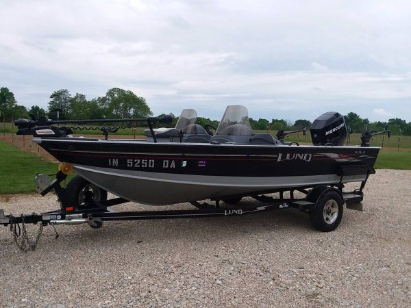 2006 lund mr pike 18 aluminum fishing boat