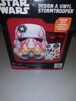 STAR WARS DESIGN A VINYL STORMTROOPER NEW SEALED IN BOX Thumbnail