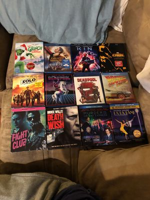 Blu-ray movies - Brand New !! Great prices Blu-ray movies - Brand New !!! for Sale in Houston, TX