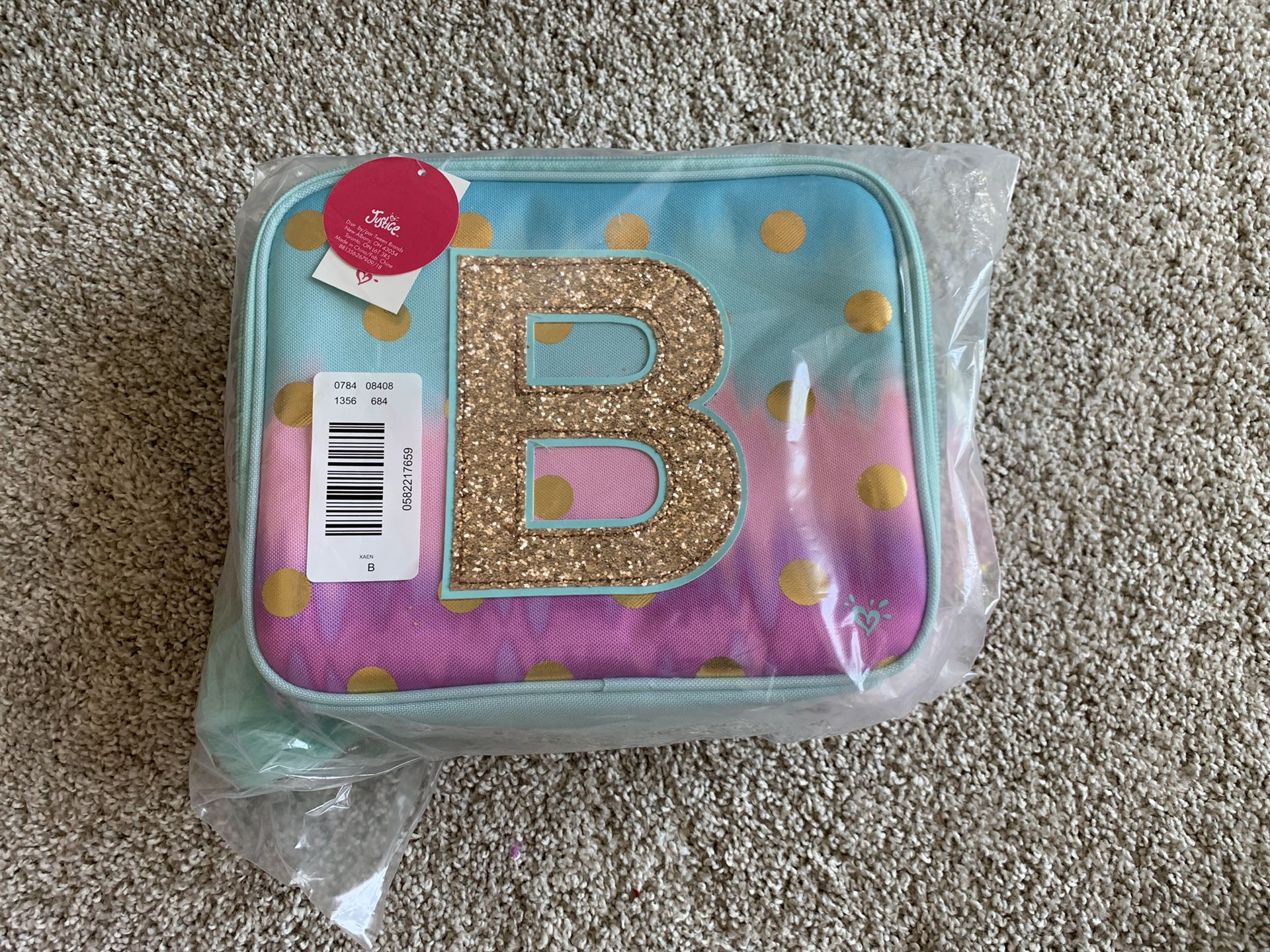 B lunchbox from justice new