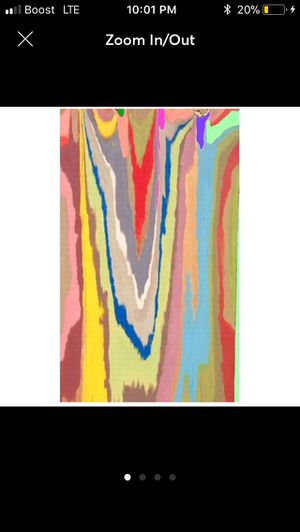 3FT Wall Street POP Art Canvas Painting Graffiti Urban Abstract Acrylic Collage Wood Frame Cotton Panel Hi I'm Reuv a Florida Starving Artist. I ha for Sale in North Palm Beach, FL