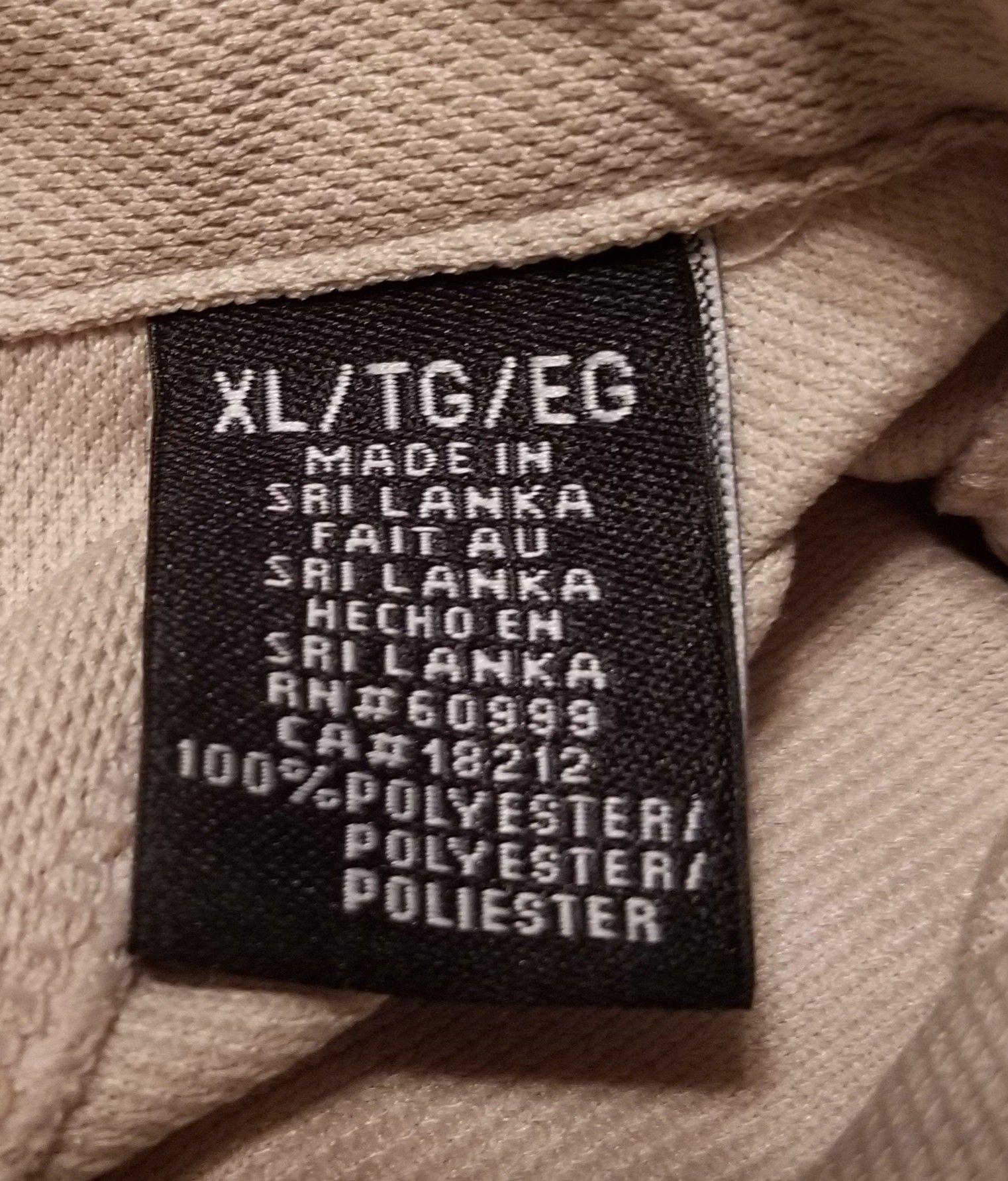 Used Arizona Diamondbacks Gold Antigua polo shirt, men's XL