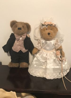 Bride and groom Boyd's bears for Sale in Martinsburg, WV