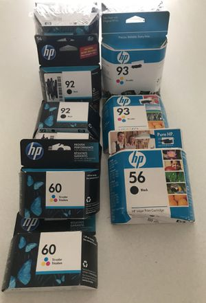 HP inkjet print cartridges for Sale in Pittsburgh, PA