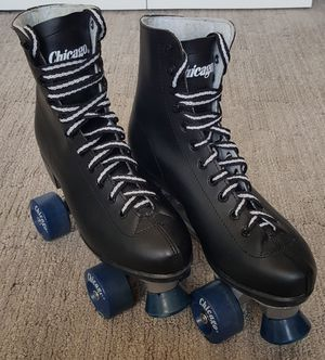 Chicago, Men's (Size 8) High Top Roller Skates (black) for Sale in Seattle, WA
