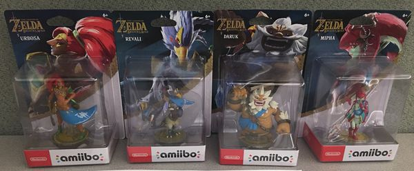Brand New Zelda BOTW Champion Amiibo Set for Sale in Berkeley, CA - OfferUp