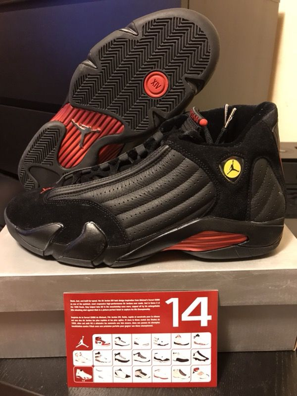 1ad4df71ad1aa5 DS Nike Air Jordan 14 Retro (2005) Last Shot Size 11 for Sale in San ...