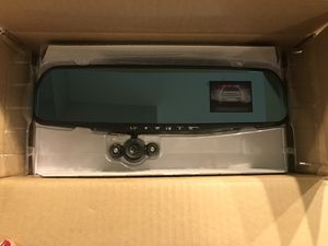 Recording Camera Rear view mirror for Sale in Issaquah, WA