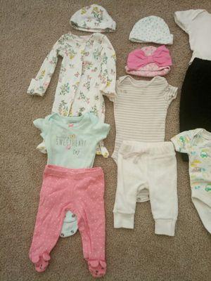 12 Lot of Newborn Clothing plus hat for Sale in Fairfax, VA