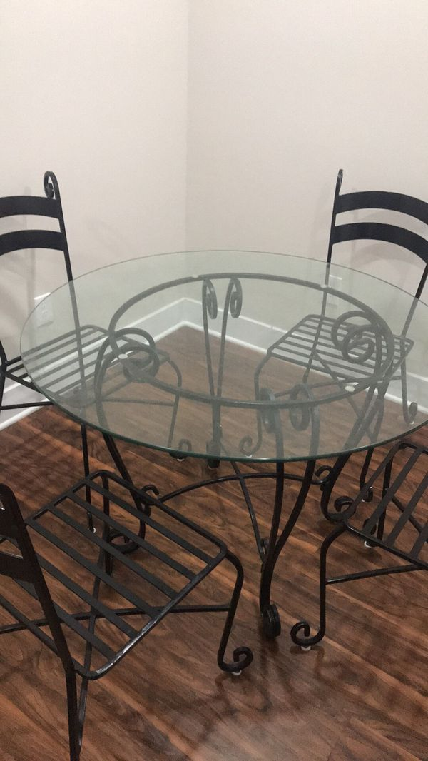 Admirable Iron Kitchen Table And Chairs Kitchen Appliances Tips And Download Free Architecture Designs Lukepmadebymaigaardcom