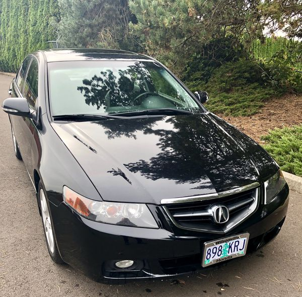 2004 Acura TSX Only 107K Miles 6spd Manual Black On Black