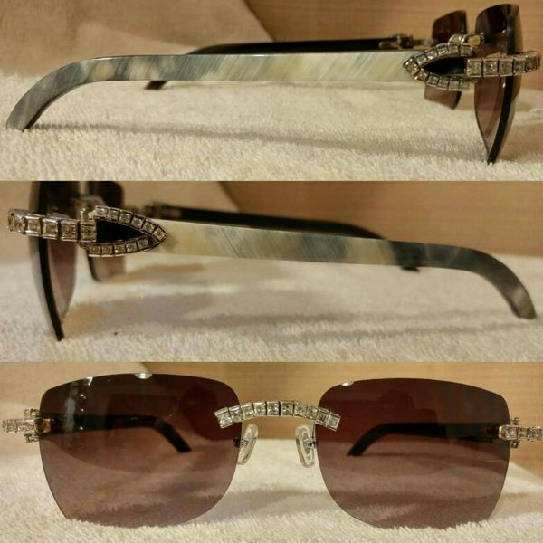 96cfe06c10 Iced Out Cartier Buffs ( yays ) Cartier Sunglasses for Sale in ...