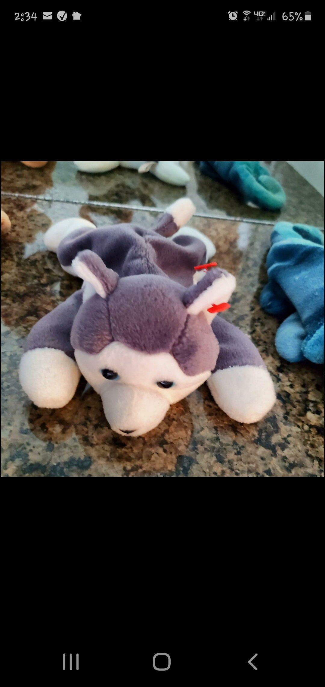 All 3 Retired TY Beanie Babies Classic Original Collectors