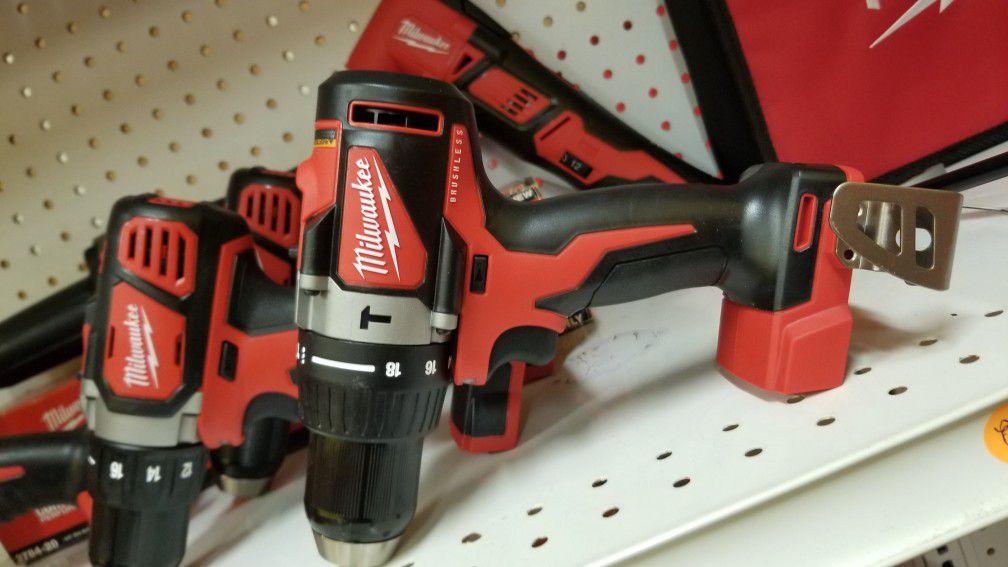 Milwaukee brushless hammerdrill new! Tool only