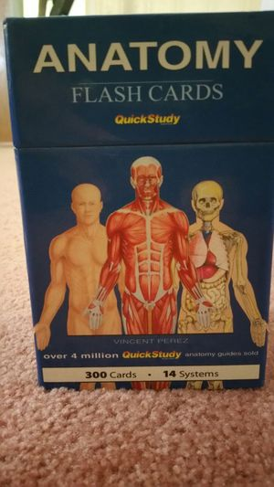 Anatomy Flash Cards for Sale in Columbus, OH