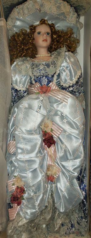 Hand painted antique porcelain doll. 450 OBO WILLING TO GO SOGNIFICANT NEGOTIATION IF REASONALBE for Sale in Dayton, OH
