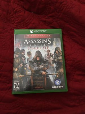 Assasins creed syndicate Xbox one for Sale in Alexandria, VA
