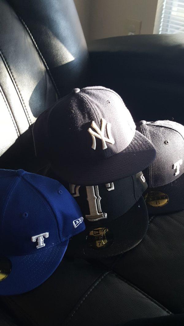 100% authentic 8c917 79221 Texas rangers   ny yankes hats