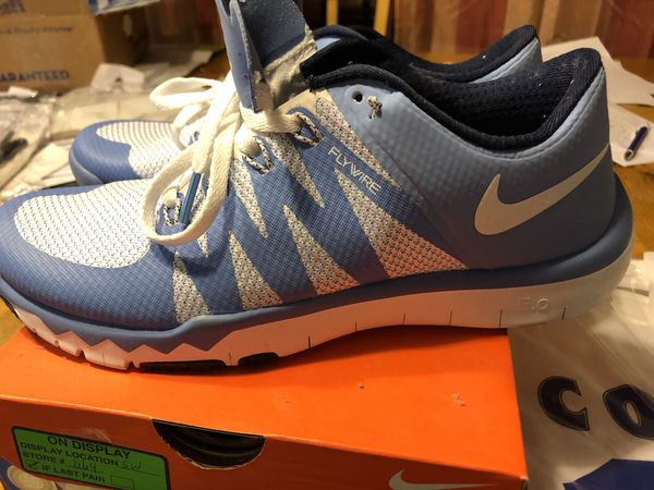premium selection c0501 725c2 ... italy practically brand new unc tarheel 5.0 nike free trainers size  mens 8.5 run a bit