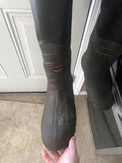 Red Head Hip Boots Thumbnail