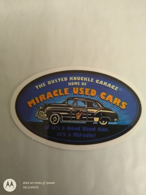 Photo NEW SMALL VINTAGE HIGH GLOSS SPEED SHOP TOOLBOX STICKER