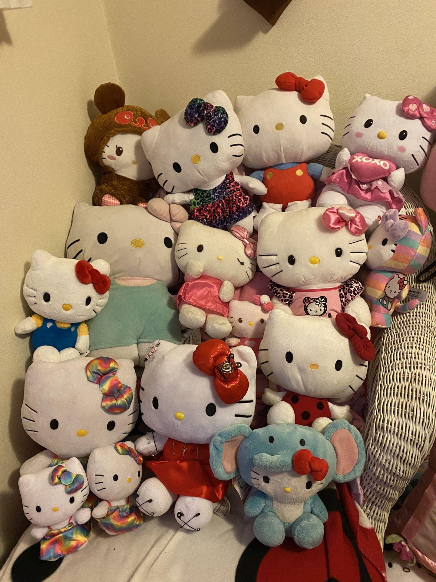 Hello Kitty Plushes