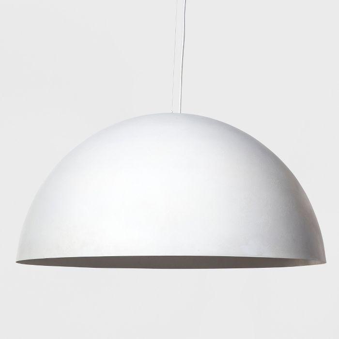 Large Metal Dome Pendant