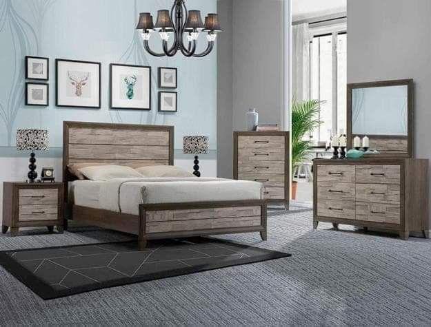 New Queen size bed (mattresses sold separately) * Cama nueva Queen - colchon aparte.
