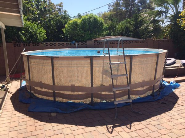 16 X 48 Summer Waves Above Ground Pool For Sale In Tempe Az Offerup