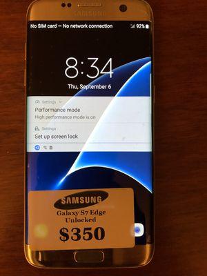 Samsung Galaxy S7 Edge Gold for Sale in Arlington, VA