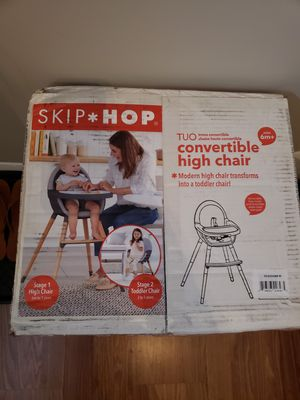 New Skip Hop Convertible Highchair for Sale in Centreville, VA