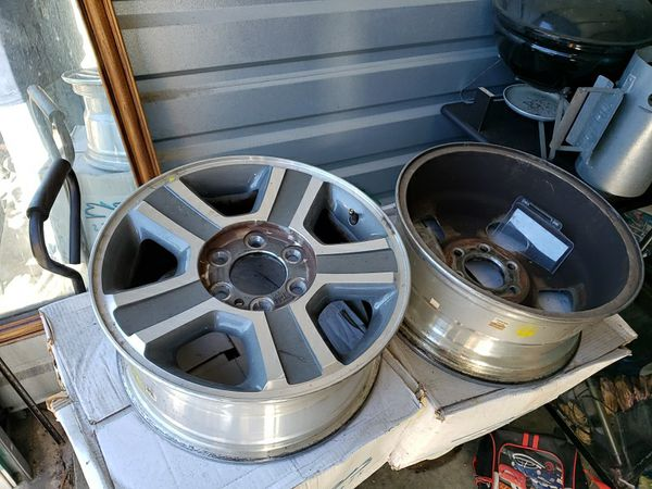Ford F150 Factory Rims For Sale >> Factory Rims From 2008 Ford F150 For Sale In Winter Haven Fl Offerup