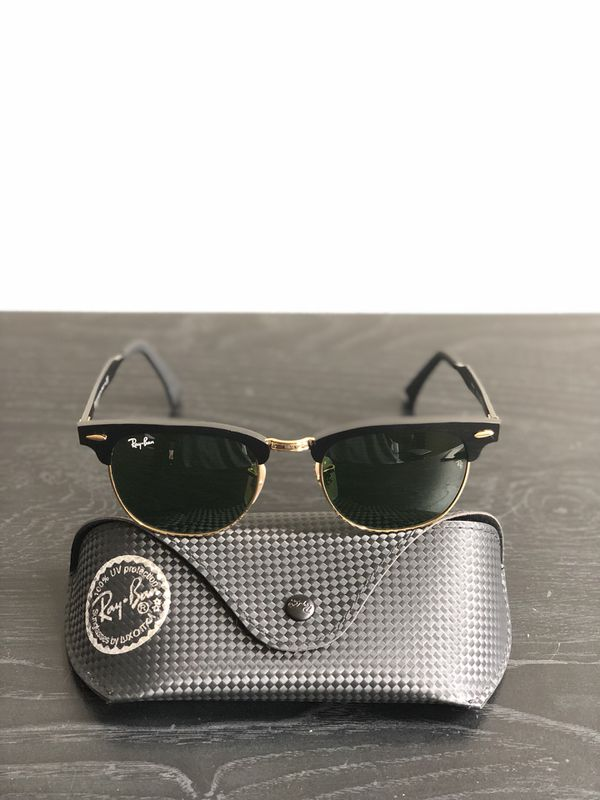 ef7c8db502020 Ray Ban Clubmaster Aluminum RB 3507 Sunglasses for Sale in ...