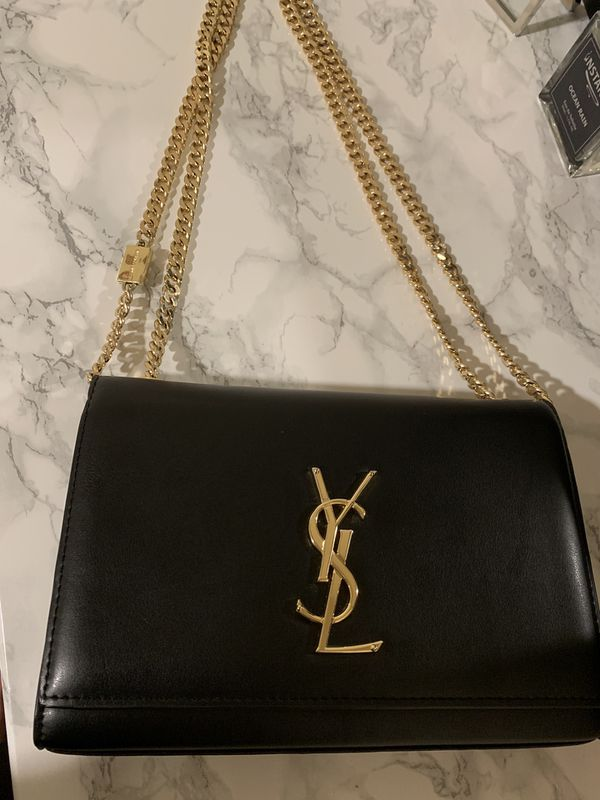 c9ff0b1f28b YSL gold chain bag for Sale in Covina, CA - OfferUp
