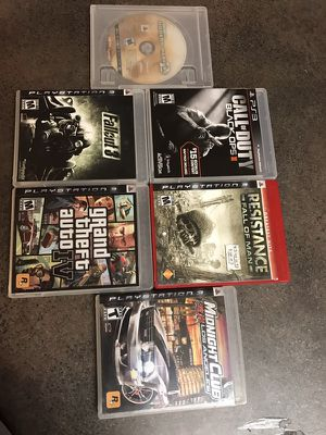 "PS3 GAMES ""PRICE FOR TODAY"" ""PICKUP ASHBURN"" for Sale in Ashburn, VA"